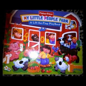 Fisher-Price My Little People Farm Boardbook